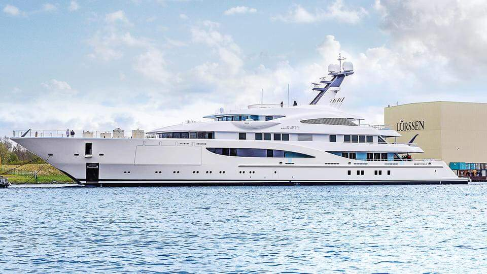 Work on a superyacht as a chef