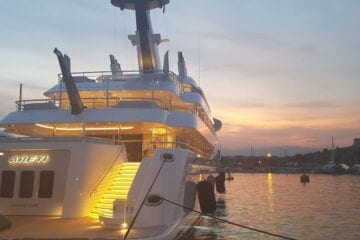Provisioning for superyachts