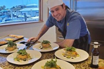 Chef Dan Griffin in key west