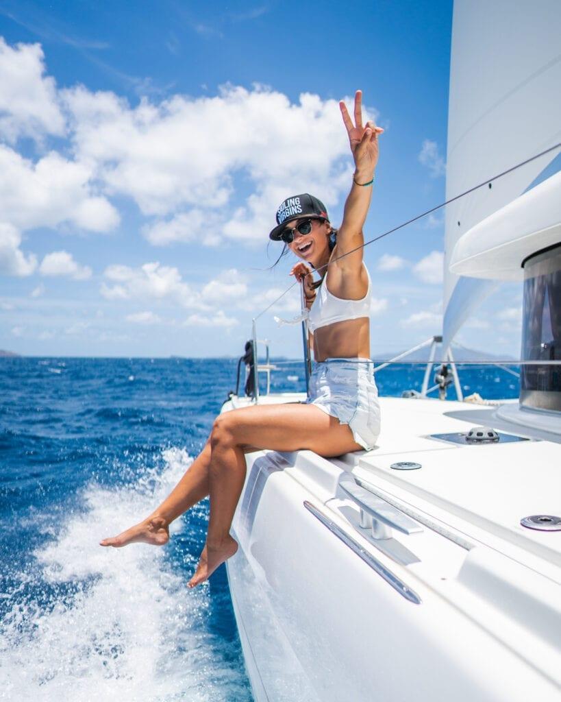 Yacht chef life