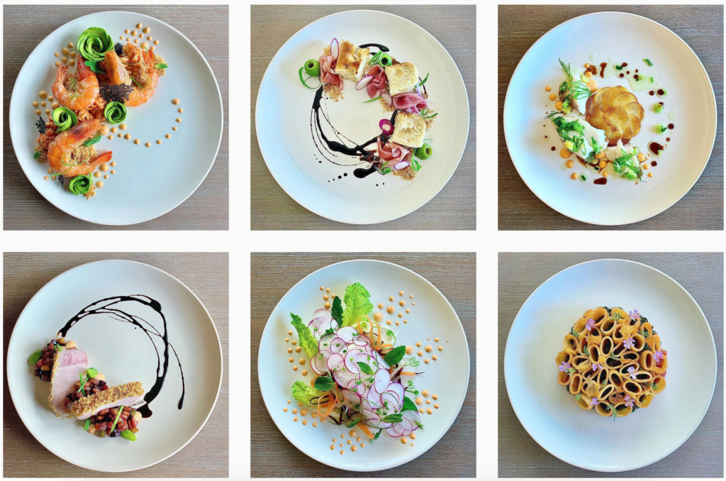 plating food by Charmaine Lin