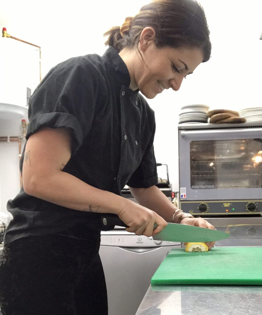 Yacht Chef Lauren Loudon